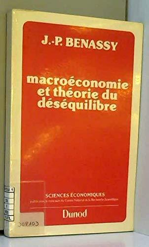 Macroéconomie et théorie du déséquilibre