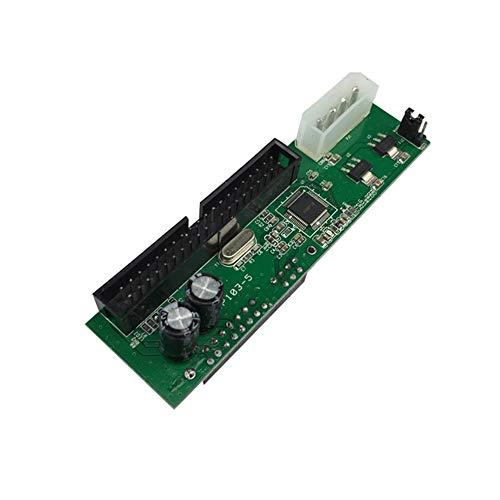 CHOULI Neu Pata IDE to Sata Festplattenadapter Konverter 3 5 HDD Express Adapterkarte grün -