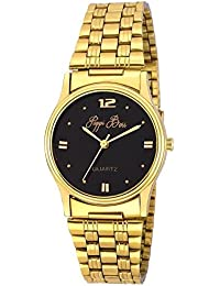 Pappi-Haunt Sober Golden Chain Wrist Watch for Mens, Boys