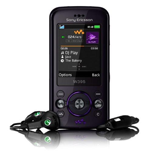 Sony Ericsson W395 Handy Dusky Grey Slider-mp3-video-player