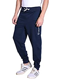 VERSATYL JOGGER - 100% Stretchable Cotton Men's Stylish and Casual Joggers Slim Fit Track Pants with Zip Pockets For Sports Gym Athletic Training Workout ( Black | Navy Blue | Grey )