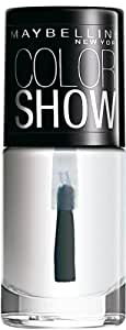 Maybelline New York Color Show Nail Enamel, Crystal Clear, 6ml