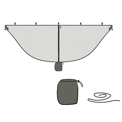 ZREAL Zeal Camping Outdoor Outdoor Camping Mückennetz für die Ausrüstung von Schaukeln, Hängemattengestell Grün