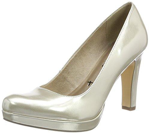 705d829c Tamaris 22426, Zapatos de Tacón para Mujer, Dorado (Light Gold), 37