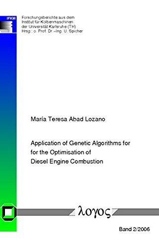 Application of Genetic Algorithms for the Optimisation of Diesel Engine Combustion