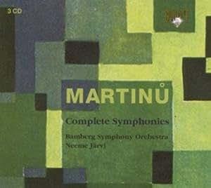 Martinu : Complete Symphonies