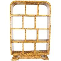 Casa-Padrino Art Deco Bookcase Birdseye - Artdeco Bookcase Shelving Furniture Antique Style - Comparador de precios