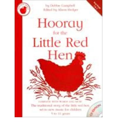 debbie-campbell-hooray-for-the-little-red-hen-teachers-book-cd-paperback-common