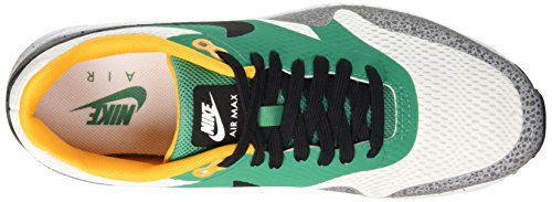 Nike Herren Air Max 1 Ultra Essential Gymnastik Weiß (White/Black-Emerald Green-Reflect Silver-Concord-Resin)