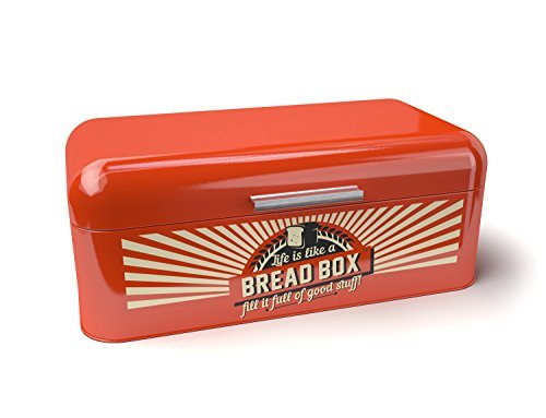 on-sale-today-bridge-to-bohdi-retro-or-vintage-style-red-stainless-steel-bread-box-or-bin-for-kitche