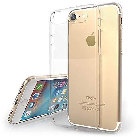 iPhone 7 Coque de chez Yousave Accessories [Cristal Claire] Transparente Dure