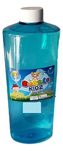 Babytintin Bubble Gun Refill Liquid - Bubble Liquid - Bubble Solution - Bubble Gun Fuel - Automatic Bubble Machine Liquid (1 Liter Container, 1000 ml)