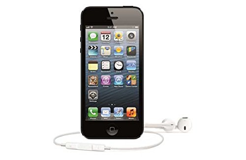Sim Free Apple iPhone 5 32 GB Refurb Handy - Schwarz.