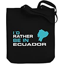 Teeburon ID RATHER BE IN Ecuador Bolsa de Lona