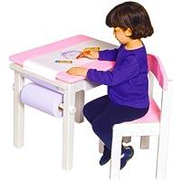 Guidecraft Mal-Tisch mit Stuhl, rosa preisvergleich bei kinderzimmerdekopreise.eu