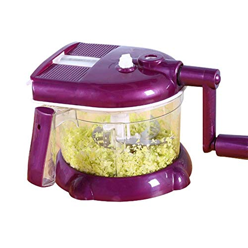 LFNIU Affettatrice per Verdure, tagliapasta e shredde per Verdure Multiuso in Cucina, per Aglio, Carota, Patate, Pomodoro, Frutta e Insalata <br>