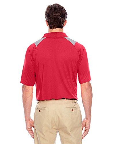 Team 365TT24Herren Innovator Performance Polo Shirt Sport Red