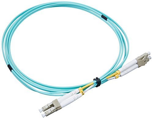 Aqua-patch-kabel (ADD-ON Computer 2 m Laser optimiert Multimode-Faser Duplex LC/LC OM3 Aqua Patch Kabel (add-lc-lc-2 m5om3))