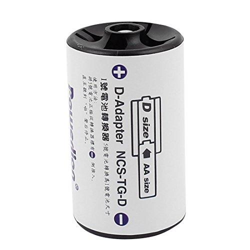 Aexit AA Größe Batterie zu D Größe Akku Batterie Adapter Konverter D-Adapter de (D Akku-konverter)