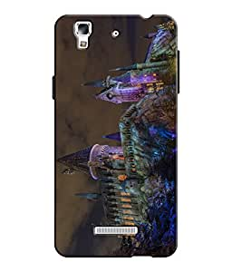 EU4IA - MICROMAX YU YUREKA - PRINTED BACK COVER CASE - MATTE FINISH