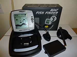 Bait boat wireless fish finder 300 metre range packed for Amazon fish finder