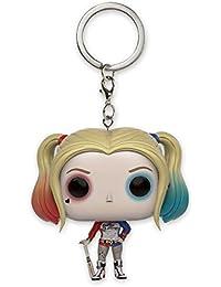 Suicide Squad FUNKO Pop! Schlüsselanhänger Harley Quinn (ca. 4cm)