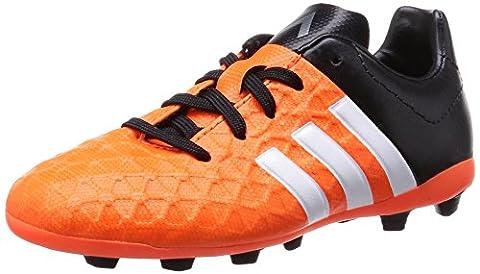 adidas Performance Ace15.4 Fxg Jungen Fußballschuhe, Orange (Solar Orange/Ftwr White/Core