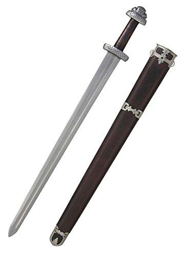 Trondheim Wikinger Schwert + Damaststahl- gefaltet + echt + scharf von Hanwei ® (Online Halloween-dekoration Irland)