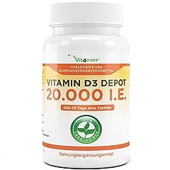 D3 20.000 I.E. Depot