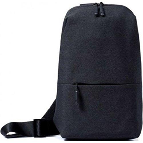Xiaomi Mi City Sling Bag Grauer Rucksack - Rucksäcke (Grau, Monotone, Unisex, Vordertasche)