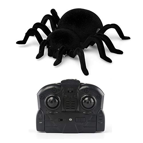 Matthew00Felix Wall Climbing Spider Infrared RC Simulation Furry Electronic Spider Great Gift -