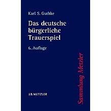 Das deutsche bürgerliche Trauerspiel (Sammlung Metzler)