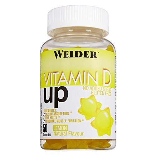 #Weider Gummy Up Revolution Vitamin D, Multivitamin-Präparat, 1er Pack (1 x 50 Kapseln)#