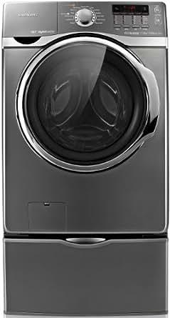Samsung WD1172XVM Autonome Charge avant 17kg 1200tr/min Acier inoxydable machine à laver - Machines à laver (Autonome, Charge avant, Acier inoxydable, boutons, Rotatif, LED, Chrome)