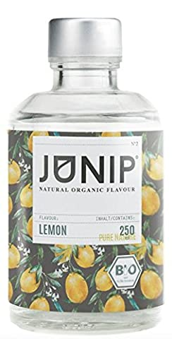 Bio Citrus Aroma Concentrated for Water, Cocktail Drinks - Food Fragrance for a 100% Organic Vegan Taste - no Sugars or Carbohydrates - Few Calories - Made in Germany by Junip