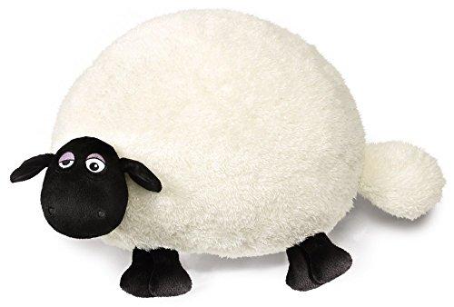 Nici 39662 Shaun The Sheep Plüsch, weiß -