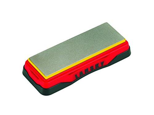 41DP3I99wZL - Lansky Sharpeners Unisex's Ultra Fine Diamond Bench Stone-Red, 6 Inch