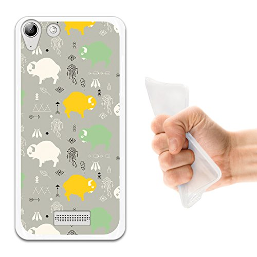 WoowCase Wiko Selfy 4G Hülle, Handyhülle Silikon für [ Wiko Selfy 4G ] Babybüffel Handytasche Handy Cover Case Schutzhülle Flexible TPU - Transparent