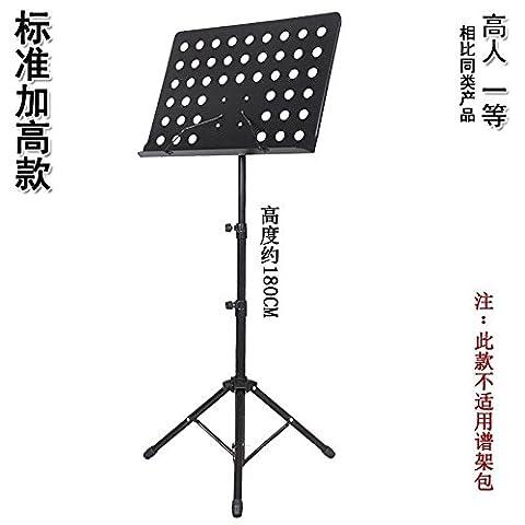 GFEI cadre de levage pliantes audacieux guitare violon guzheng erhu musique du piano debout,norme (maximum de sensibiliser 180cm)