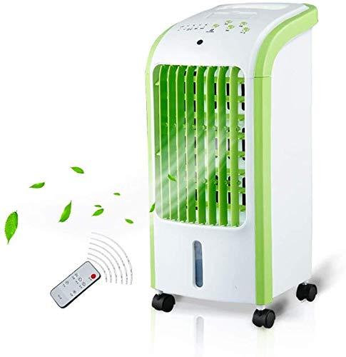 Qianqiusui Portátil de Control Remoto de Aire Acondicionado Ventilador, doméstica pequeña de Aire...