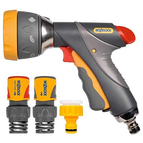 Hozelock Kit Pistolet Multi Spray Pro + raccords 19mm, Estándar