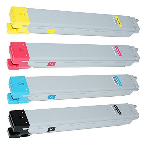 Preisvergleich Produktbild 4 Toner für Samsung CLX-9201 NA 9251 NA 9301 NA MultiXpress - CLT-K809S/ELS CLT-C809S/ELS CLT-M809S/ELS CLT-Y809S/ELS - Schwarz 20.000 Seiten, Color je 15.000 Seiten