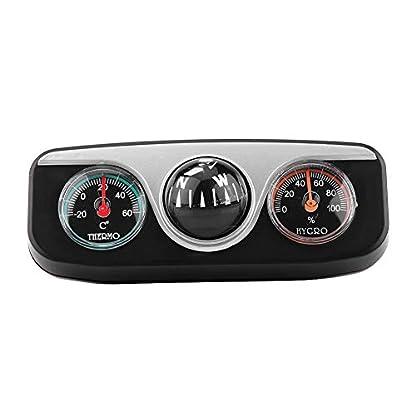 Delaman-Kompass-3-in-1-Multifunktion-Armaturenbretthalterung-Navigationsrichtung-Kompass-Thermometer-Hygrometer