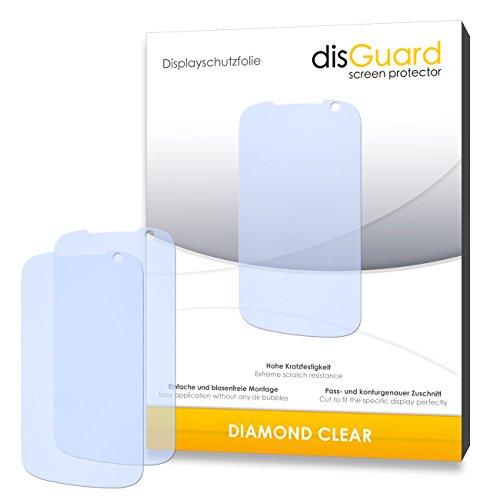 3 x disGuard® Schutzfolie Gigabyte GSmart Tuku T2 Bildschirmschutz Folie