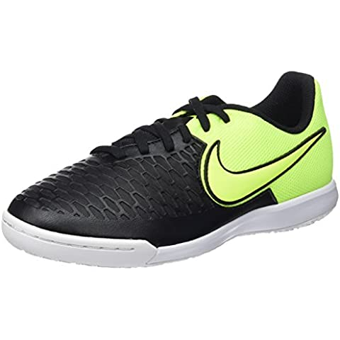 Nike Jr Magistax Pro IC - Zapatillas para niño, color negro / amarillo / blanco