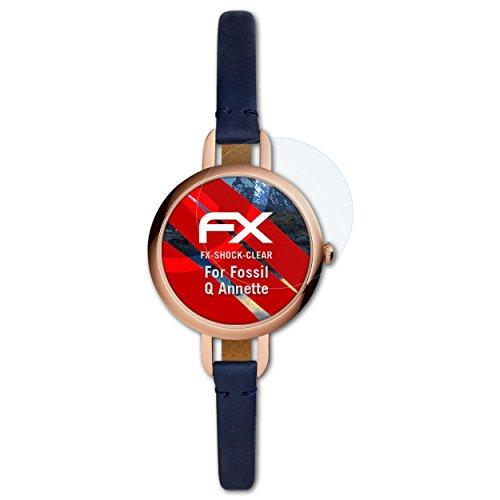 atFoliX Anti-Shock Pellicola protettiva compatibile con Fossil Q Annette Pellicola Proteggi, ultra chiara e che assorbe gli urti...