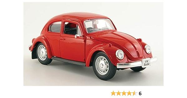 Vw Käfer Rot 1973 Modellauto Fertigmodell Maisto 1 24 Spielzeug
