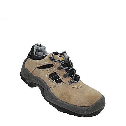 Maurer s1P chaussures de travail chaussures chaussures berufsschuhe businessschuhe plat marron Marron - Marron