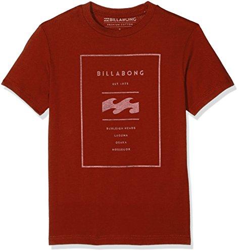 Billabong BOY 'S umgekehrt Short Sleeve Surfwear T-Shirt-Brick, Größe 14