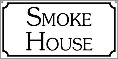 Tarfy Smoke BBQ Restaurant Cafe Bar Retro Weinlese-Blechschild-Dekorations-Bar-Kaffee-Café-Nachmittagstee-Grill-Geschäft